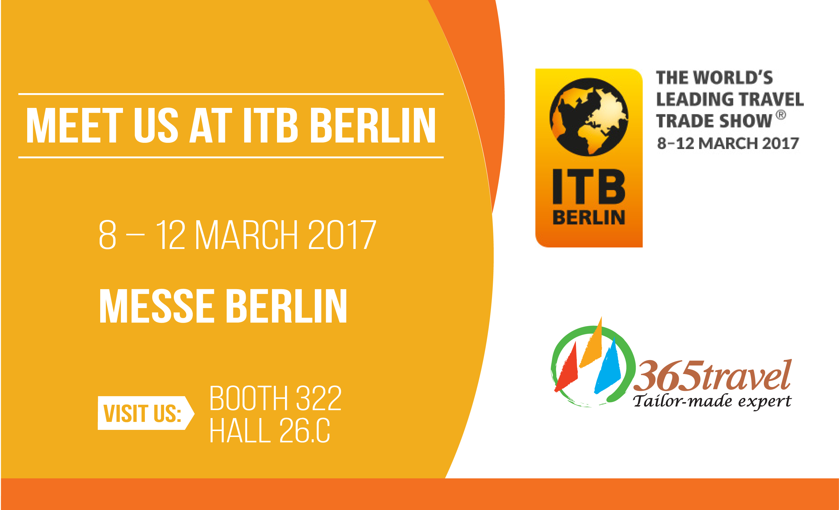 Come and Visit Us at ITB Berlin 2017