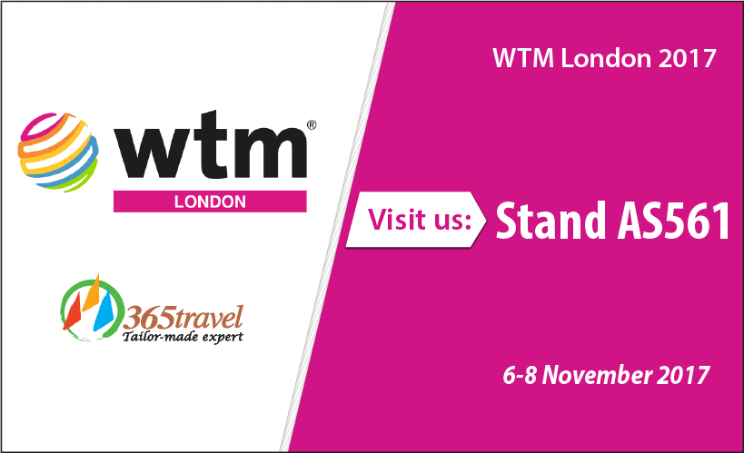 Meet 365 Travel at WTM London 2017