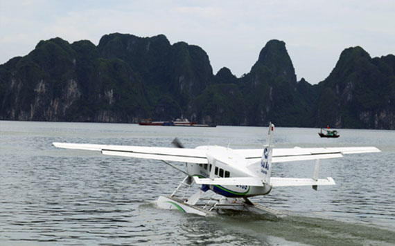 Oneway Seaplane Hanoi To Halong With 15 Minutes's Scenic