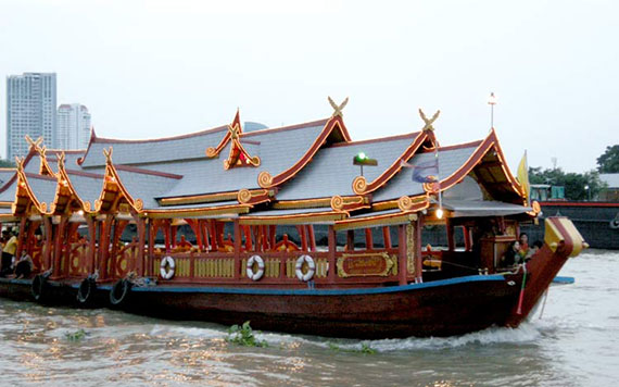 Bangkok Half Day Rice Barge Cruise