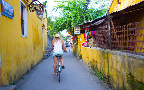 Biking In Hoi An & Tra Que Village