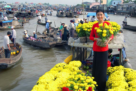 Glance Of Vietnam & The Mighty Of Mekong