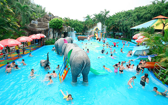 Ho Chi Minh Full Day Dam Sen Water Park