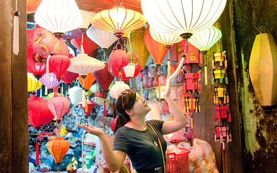 Lantern Making, Cooking Class & Biking In Hoi An