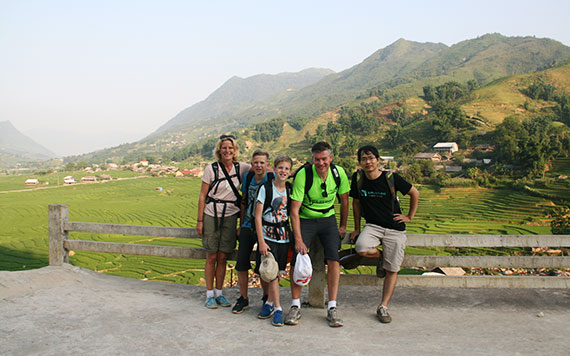 Sapa Trekking  with Bac Ha Market