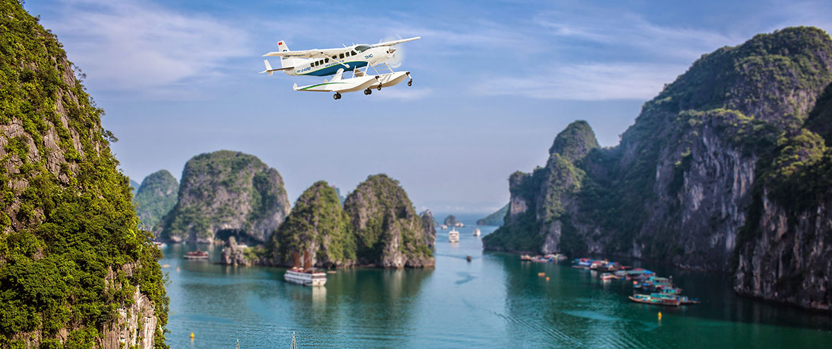 Round Trip Hanoi - Halong Bay By Seaplane Without Scenic