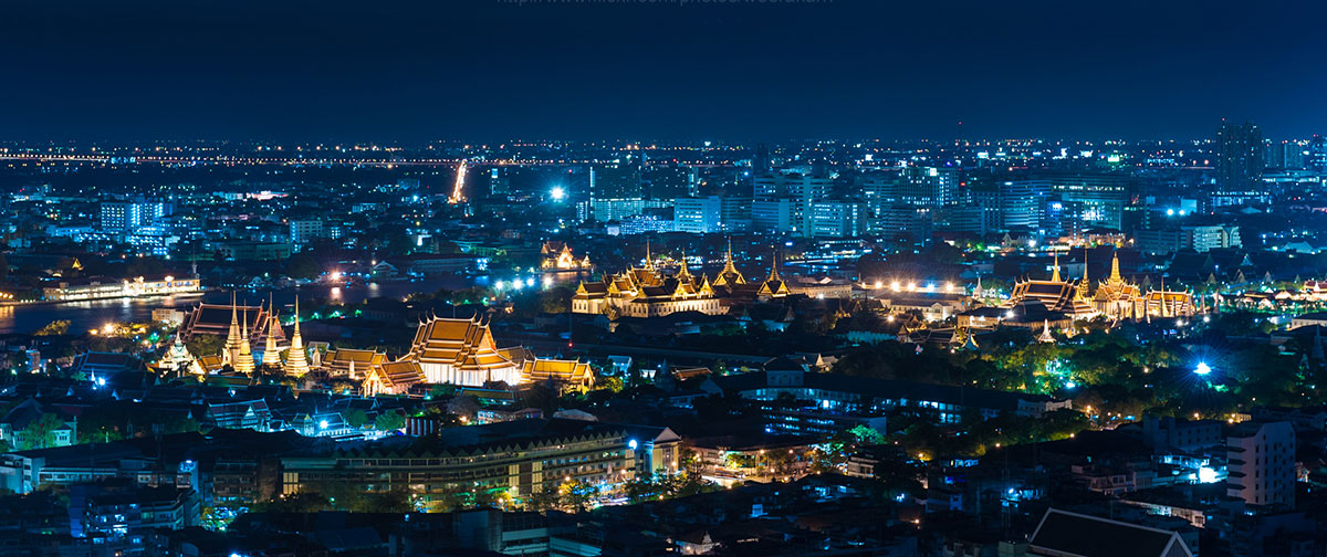 The view of Bangkok