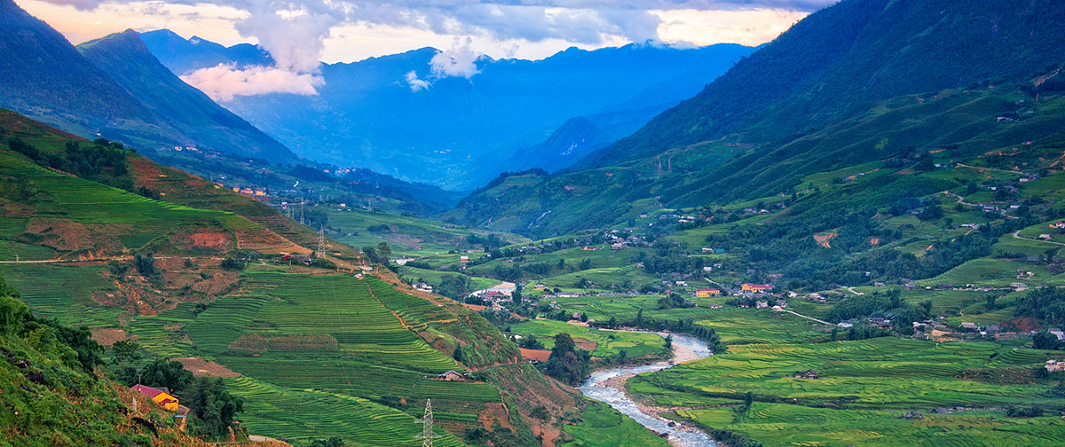 Full Day Cycling Tour To Down Hill Into Sapa Valley