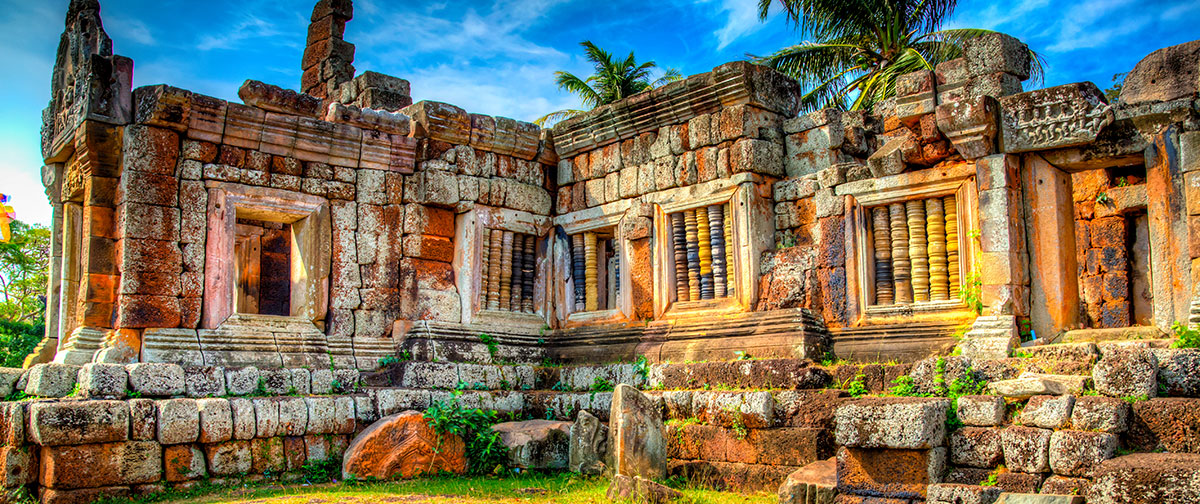 The Ruins of Phnom Chisor
