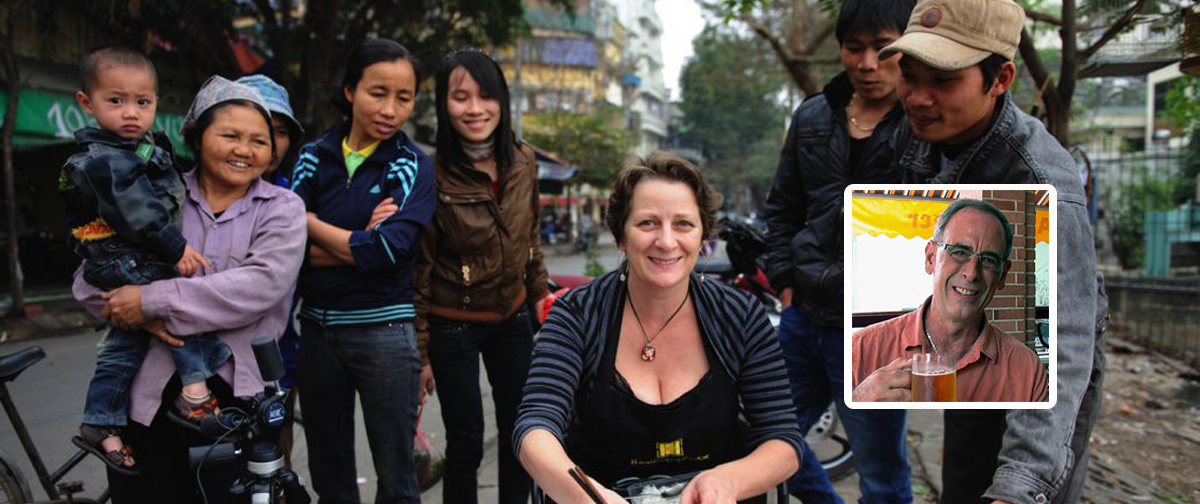 Half Day Hanoi Street Food Tour With American Chef Diniel Hoyer