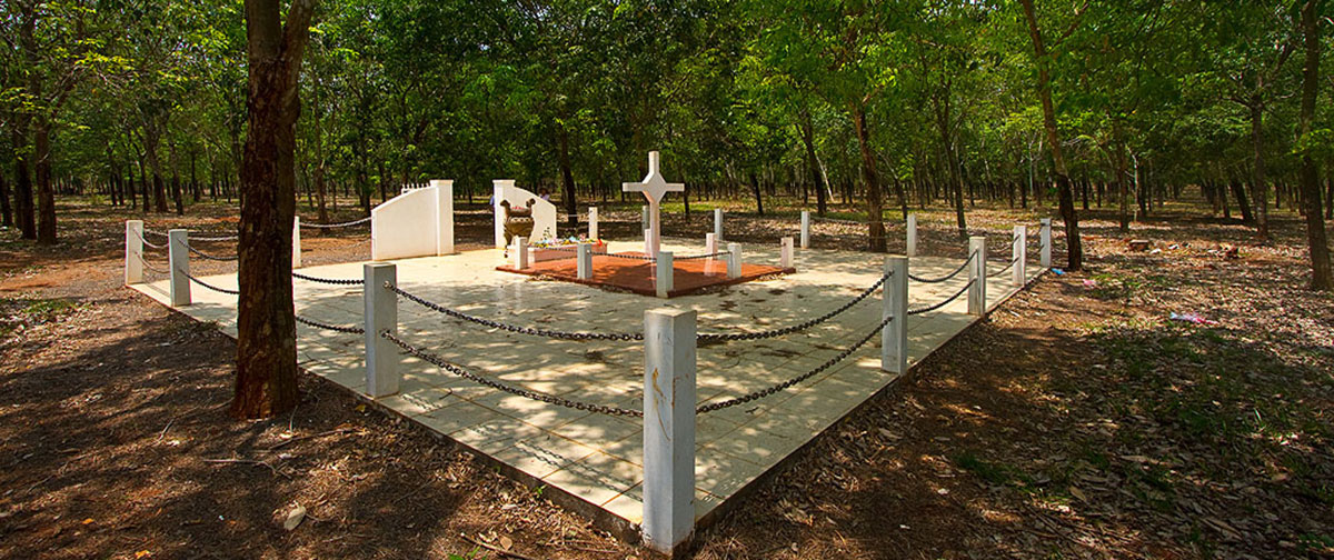 The memorial of Long Tan Battle