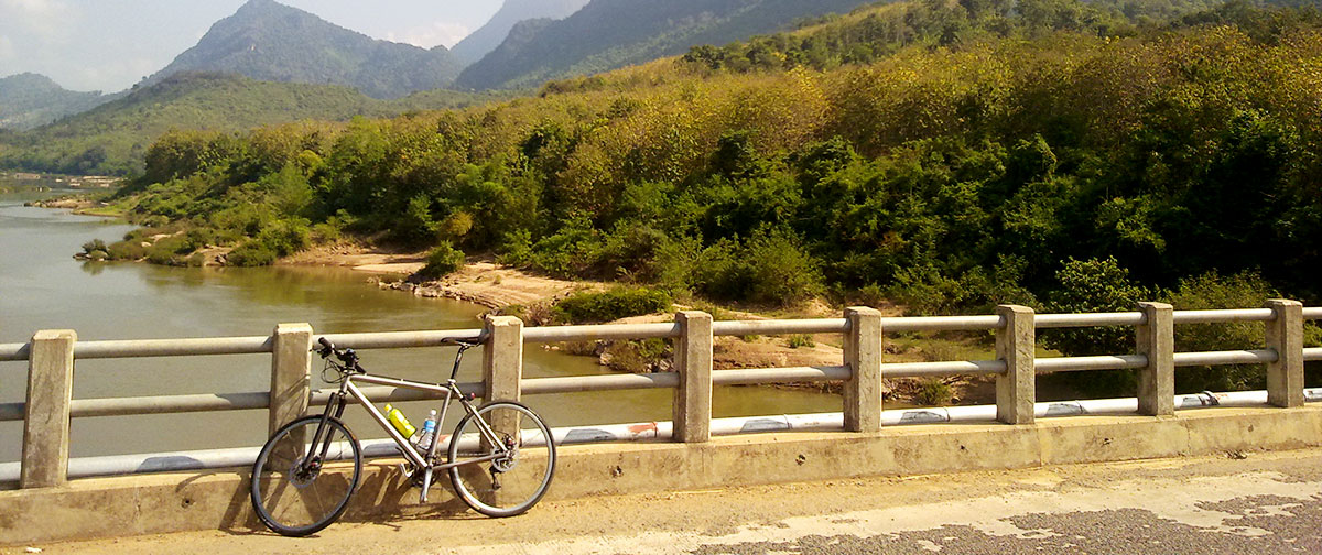 Luang Prabang – Biking To Pak Ou Caves